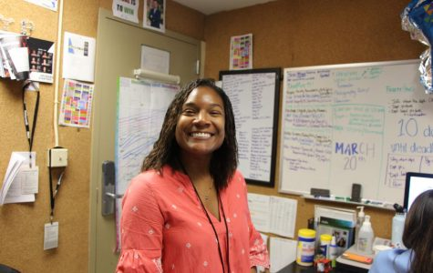 In addition to teaching ninth- and tenth-grade English, Ms. Ellis has guided RE's Yearbook staff.