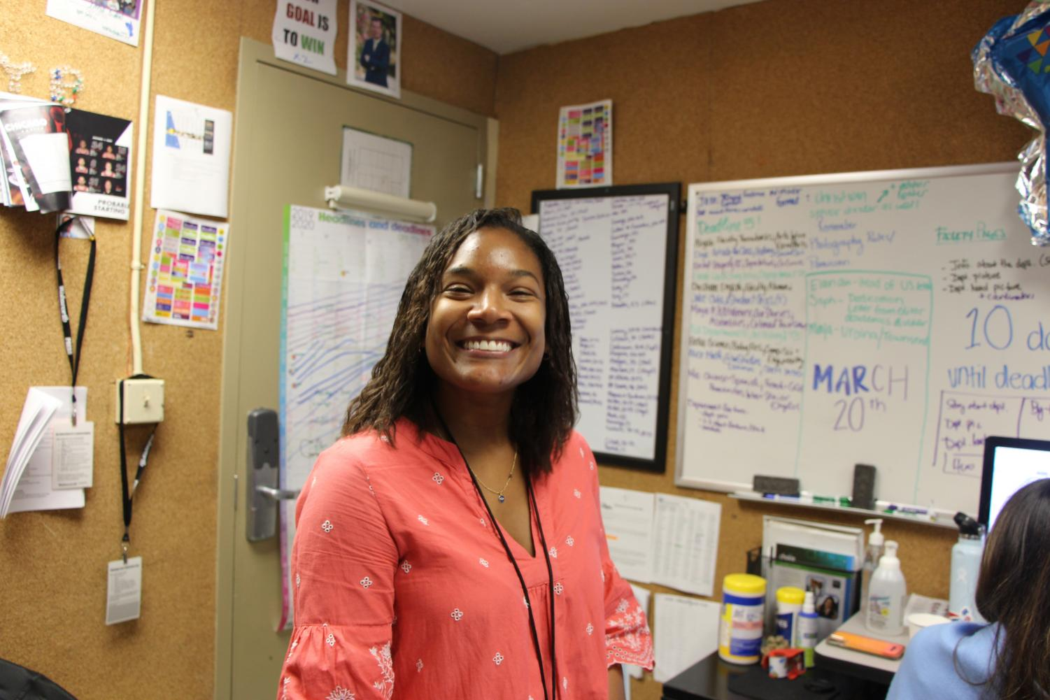 In addition to teaching ninth- and tenth-grade English, Ms. Ellis has guided RE