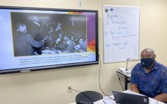 Mr. Jackson, an educational entrepreneur, speaks about his new class