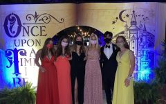 SGA representatives admire their successful prom