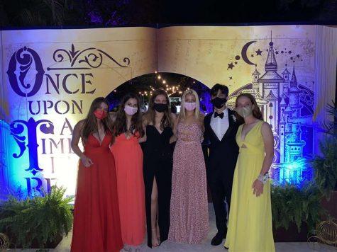 SGA representatives admire their successful prom