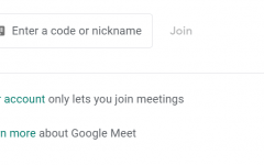 New Google Meet restrictions do not allow students to create their own meetings