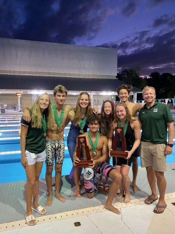 RansomEvergladessweeps at Miami Swimming Districts